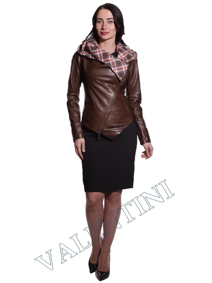 Куртка кожаная VALENTINI 016-105 - 1