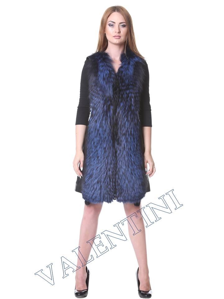 Кожаная куртка VALENTINI мод.2240 - 8