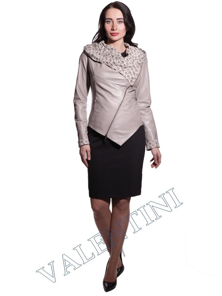 Куртка кожаная VALENTINI 016-105-1 - 5