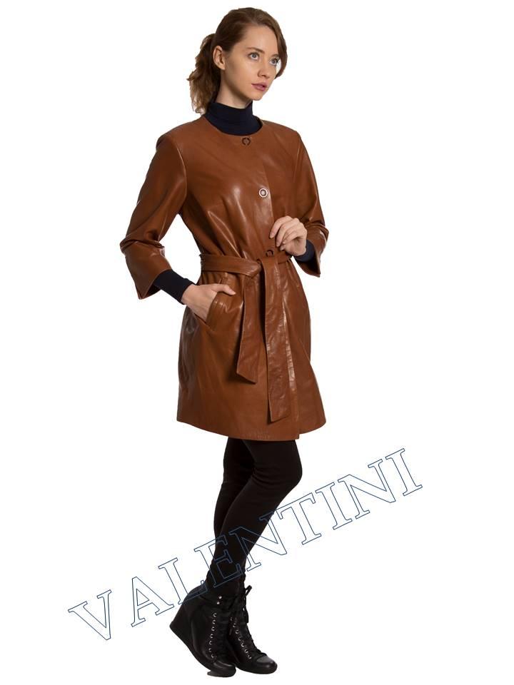 Кожаная куртка VALENTINI 017-117-1 - 5