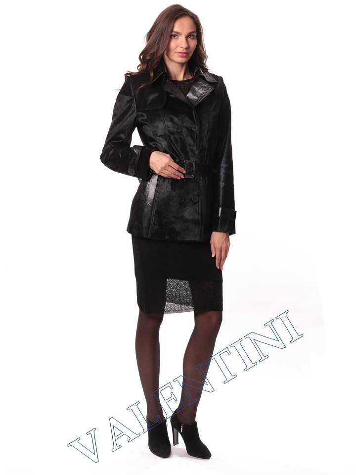 Кожаная куртка из теленка VALENTINI L-30-75 - 2