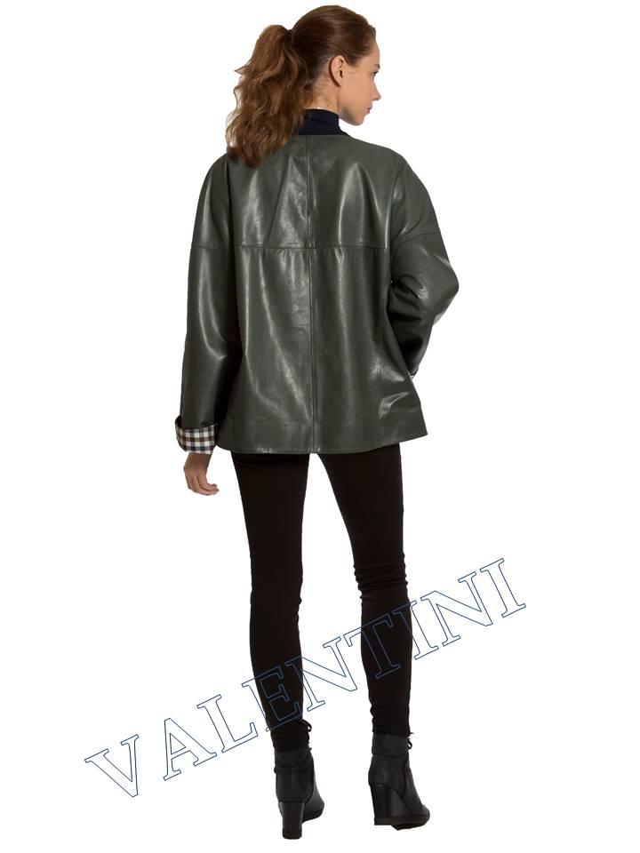Кожаная куртка VALENTINI 017-116 - 8