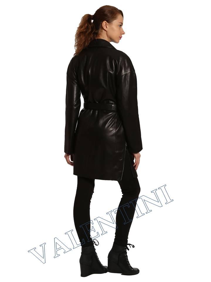 Кожаная куртка VALENTINI 017-120 - 6