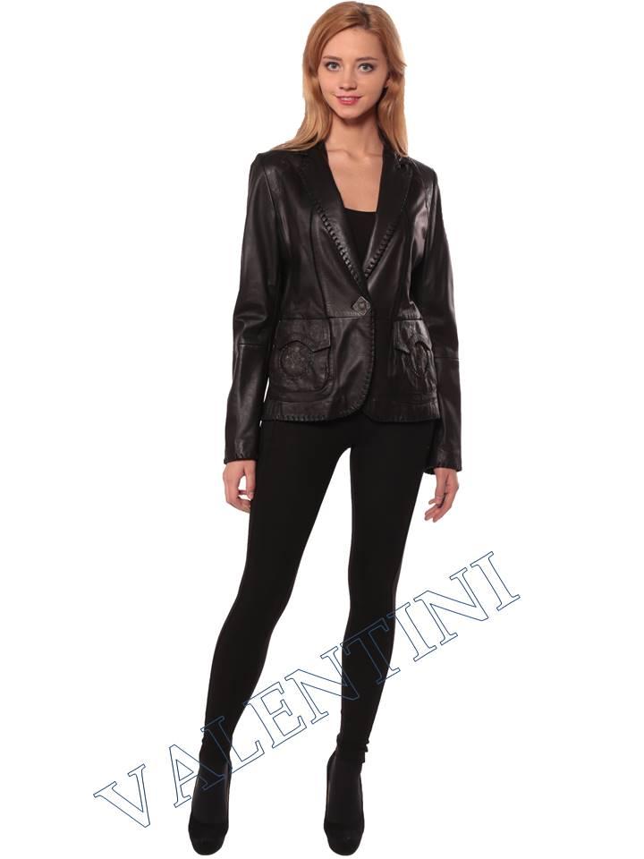 Женская кожаная куртка SUED MOD faustina - 4