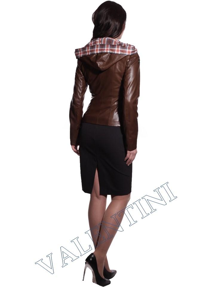 Куртка кожаная VALENTINI 016-105 - 2