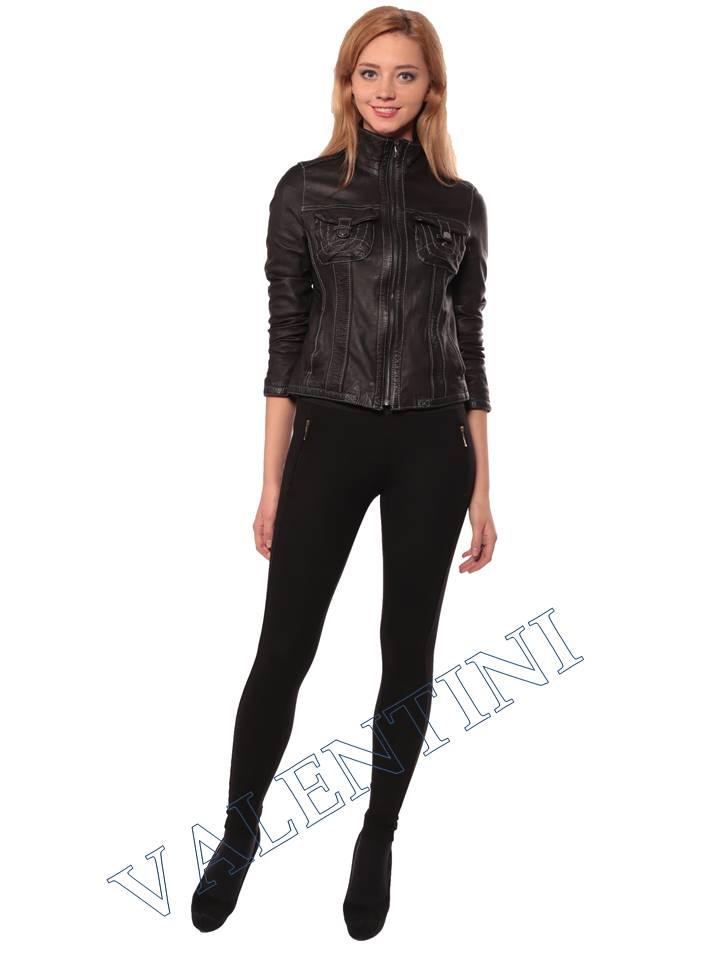 Женская кожаная куртка PANTERREZ 207 - 3