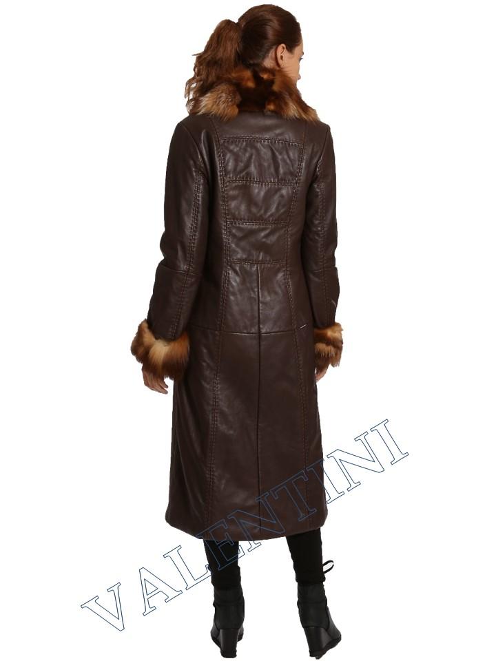 Кожаное пальто SUED MOD 1985-TT - 5