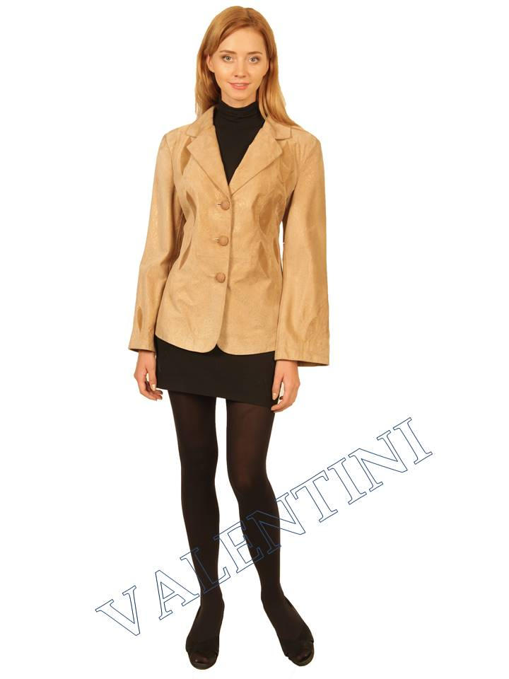 куртка кожаная STELLA DORO 2502  - 1