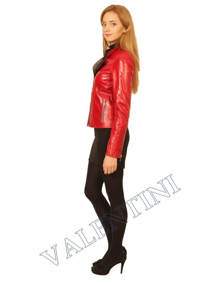Куртка кожаная VALENTINI 2254 - 1