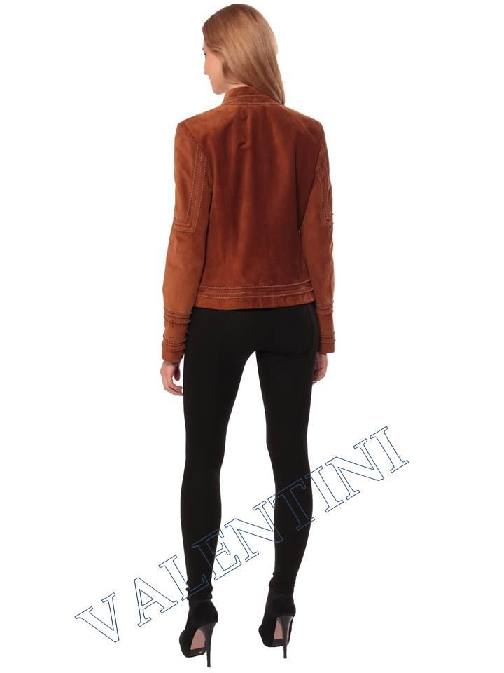 Женская кожаная куртка STELLA DORO 5756 - 6