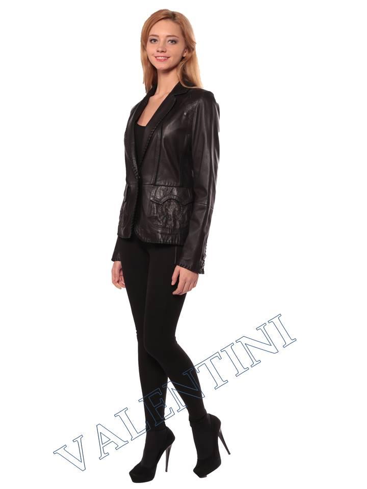 Женская кожаная куртка SUED MOD faustina - 2