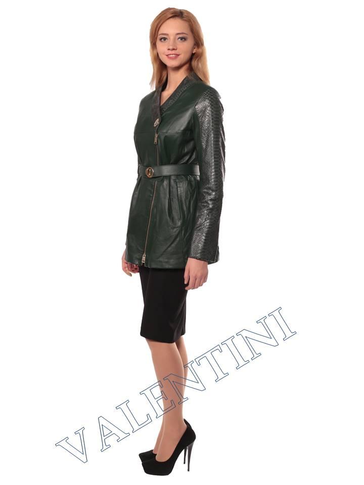 Женская кожаная куртка VALENTINI 2286 - 5