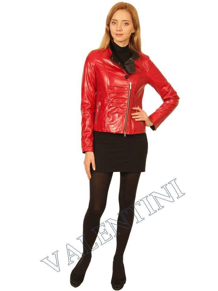 Куртка кожаная VALENTINI 2254 - 3