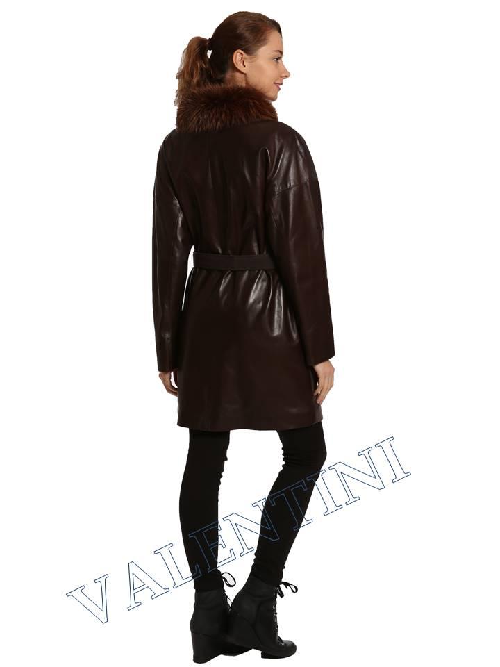 Кожаная куртка VALENTINI 017-124 - 6