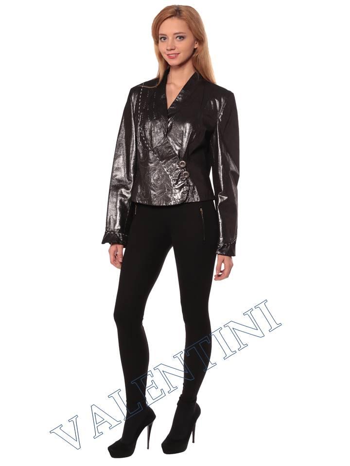 Женская кожаная куртка STELLA DORO 3113