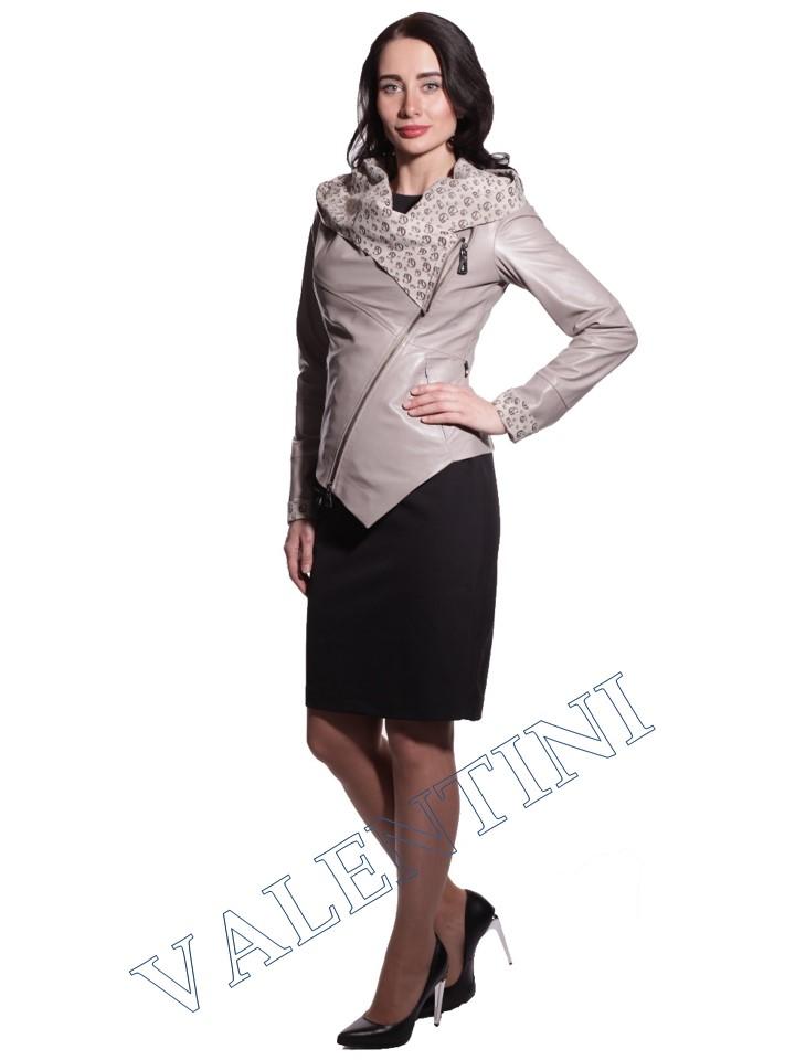 Куртка кожаная VALENTINI 016-105-1 - 6