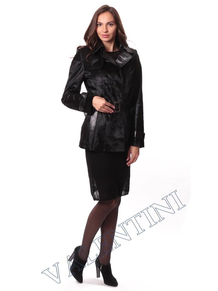 Кожаная куртка из теленка VALENTINI L-30-75 - 4