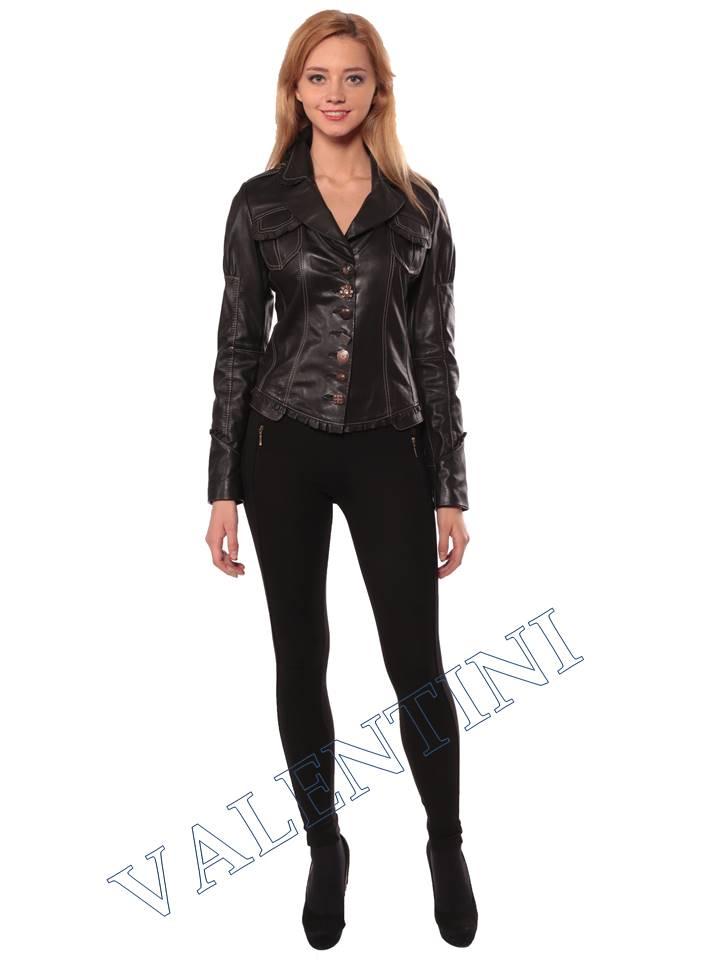Женская кожаная куртка SUED MOD fimia - 2