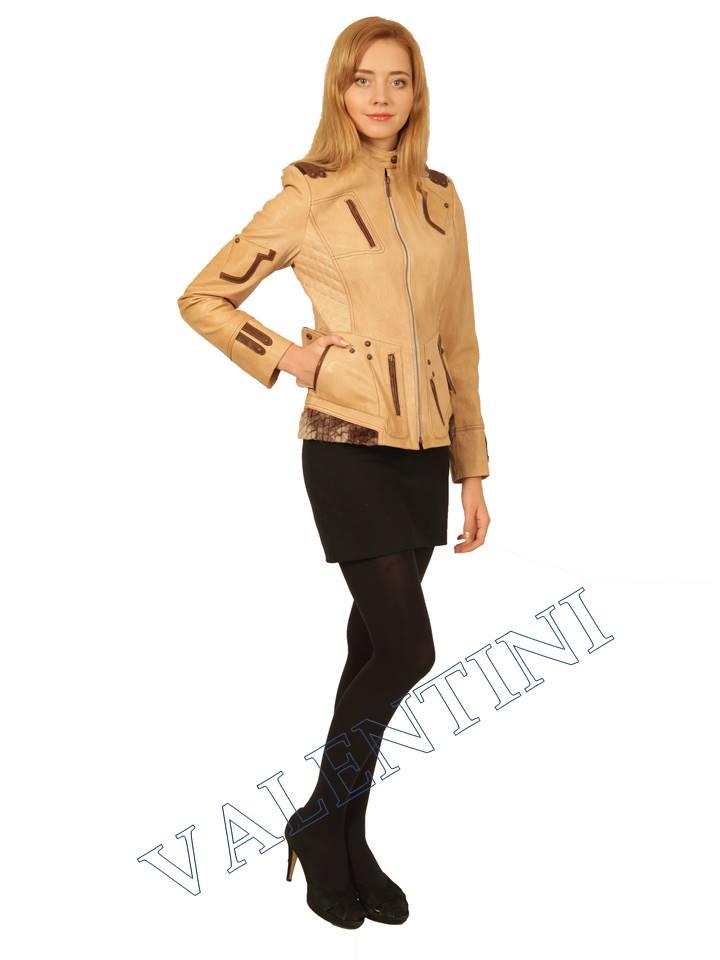 Куртка кожаная VALENTINI 2078 - 2