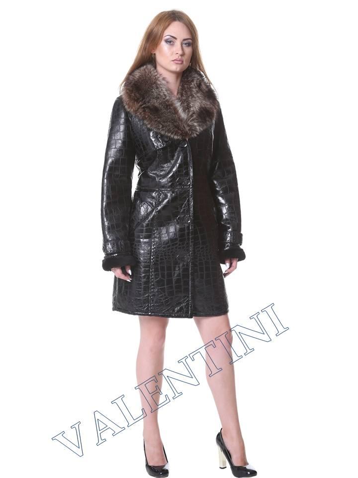 Женская дубленка VALENTINI мод.652 - 1