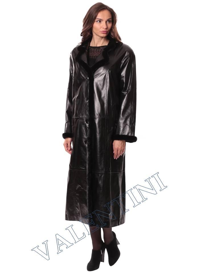 Кожаное пальто GALOPPI 5054 - 2