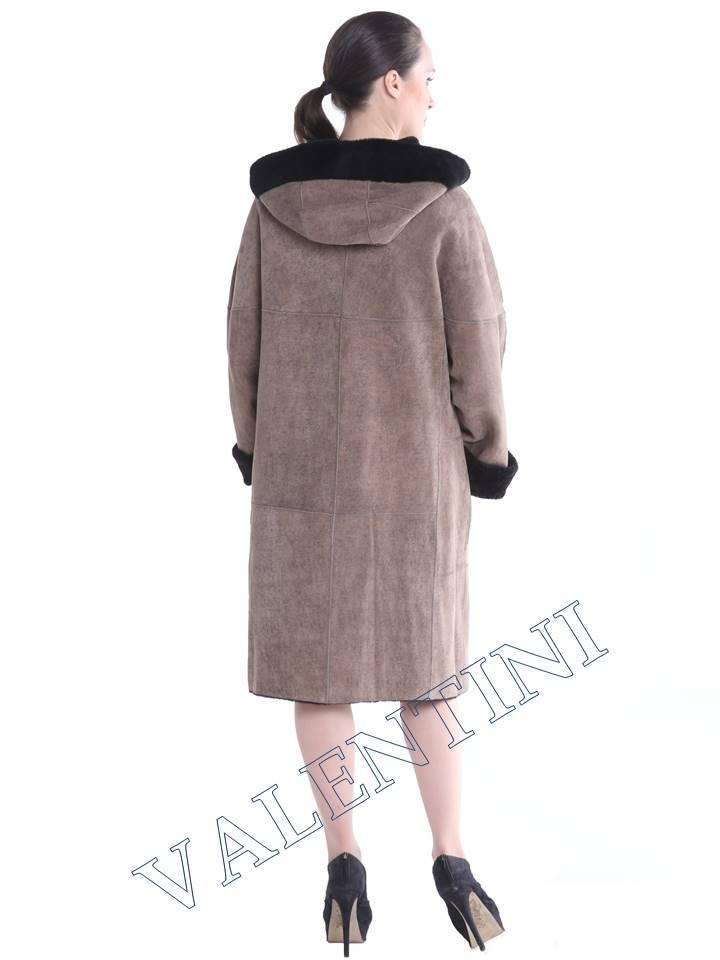 Женская дубленка VALENTINI мод.338-100-1 - 3