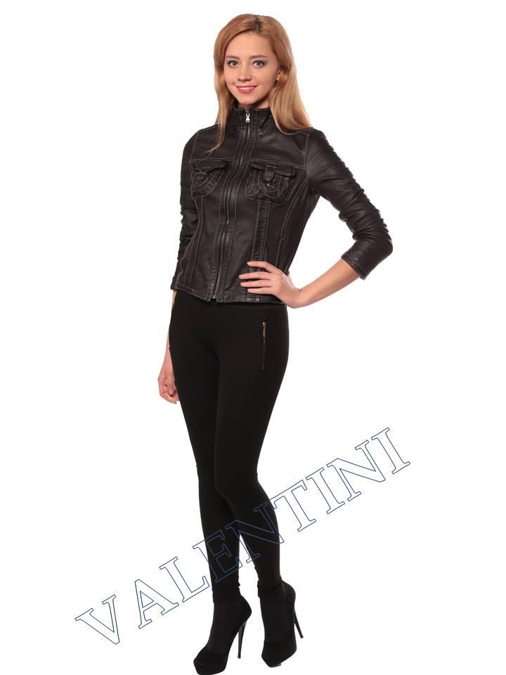 Женская кожаная куртка PANTERREZ 207 - 2
