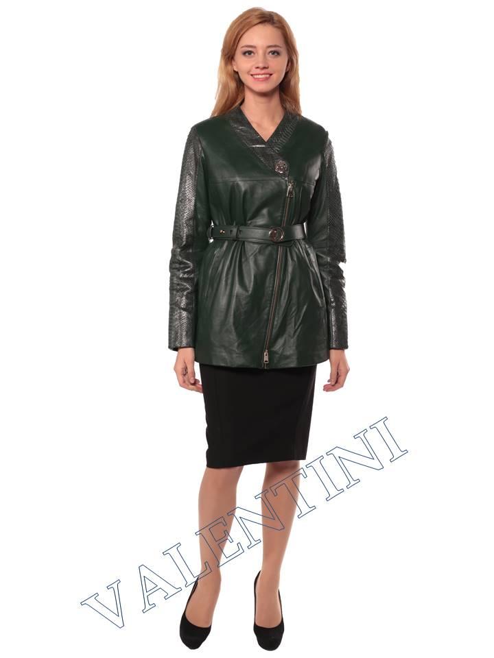 Недорогие кожаные куртки женские Москва
