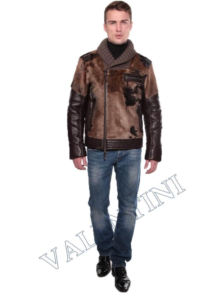 Куртки мужские из кожи длинные
